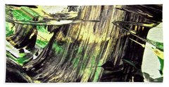 Hand Towel featuring the painting Abstract 6554 by Stephanie Moore