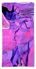 Hand Towel featuring the painting Abstract 6558 by Stephanie Moore