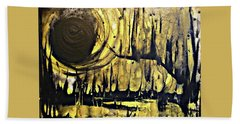 Abstract 8 Hand Towel