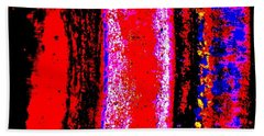 Abstract  Abstraction Bath Towel