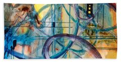 Abstract Appeal Bath Towel