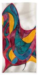 Abstract Art 101 Bath Towel