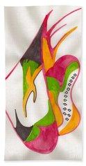 Abstract Art 104 Bath Towel