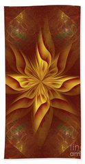 Abstract Art - The Harmony Of A Precious Soul By Rgiada Bath Towel by Giada Rossi