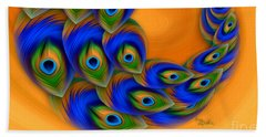 Abstract Art - Vanity Vortex By Rgiada Hand Towel