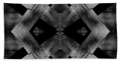 Bath Towel featuring the photograph Abstract Barn Wood by Chris Berry