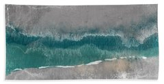 Abstract Beach Landscape- Art By Linda Woods Hand Towel