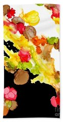 Abstract Bouquet Bath Towel