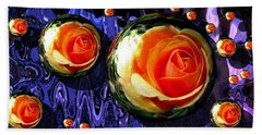 Abstract Bubbles 7616.20 Hand Towel
