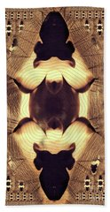 Abstract Burlesque By Mb Bath Towel