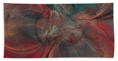 Abstract Chaotica 10 Bath Towel