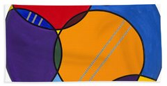 Abstract Circles 2 Hand Towel