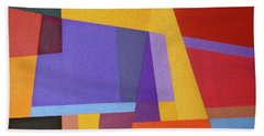 Abstract Composition 7 Hand Towel