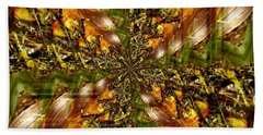 Abstract Cornfield 1 Bath Towel