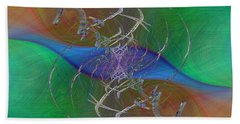Abstract Cubed 321 Bath Towel