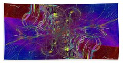 Abstract Cubed 322 Bath Towel