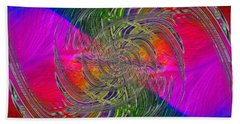 Abstract Cubed 326 Bath Towel