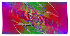 Abstract Cubed 327 Bath Towel