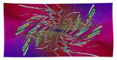 Abstract Cubed 331 Bath Towel
