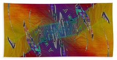 Abstract Cubed 333 Bath Towel