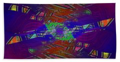 Abstract Cubed 334 Bath Towel