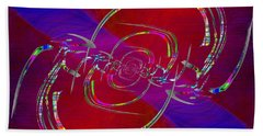 Abstract Cubed 341 Bath Towel