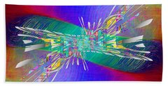 Abstract Cubed 346 Bath Towel