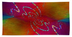 Abstract Cubed 348 Bath Towel