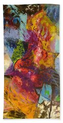 Abstract Depths Hand Towel