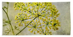 Attractive Dill Blossom  Hand Towel