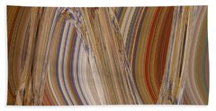 Abstract Dimension Hand Towel