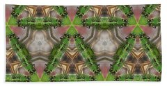 Abstract Dragons Hand Towel by Cathy Harper