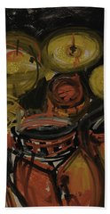 Abstract Drums Bath Towel