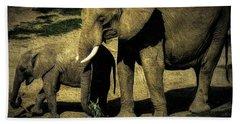 Abstract Elephants 23 Hand Towel