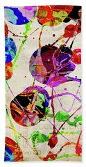 Abstract Expressionism 2 Bath Towel by Phil Perkins