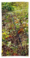 Abstract Fall Thicket Hand Towel