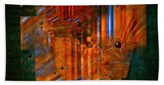 Abstract Fields Bath Towel