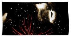 Abstract Fireworks IIi Bath Towel