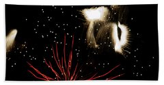 Abstract Fireworks IIi Bath Towel