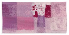 Abstract Floral - 11v3t09 Hand Towel