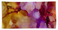 Abstract Floral #22 Bath Towel