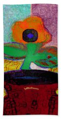Abstract Floral Art 116 Hand Towel