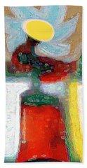 Abstract Floral Art 208 Bath Towel