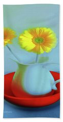 Abstract Floral Art 268 Hand Towel