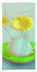 Abstract Floral Art 275 Hand Towel
