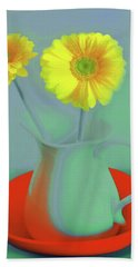 Abstract Floral Art 300 Hand Towel