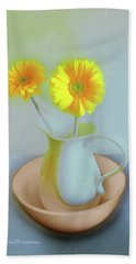 Abstract Floral Art 302 Hand Towel