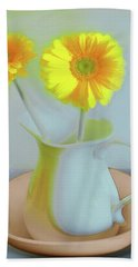 Abstract Floral Art 303 Bath Towel