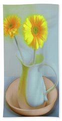 Abstract Floral Art 304 Bath Towel