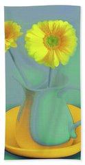 Abstract Floral Art 307 Bath Towel